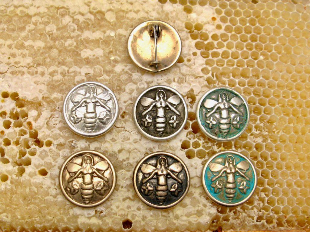 Sigewif Bee Pins